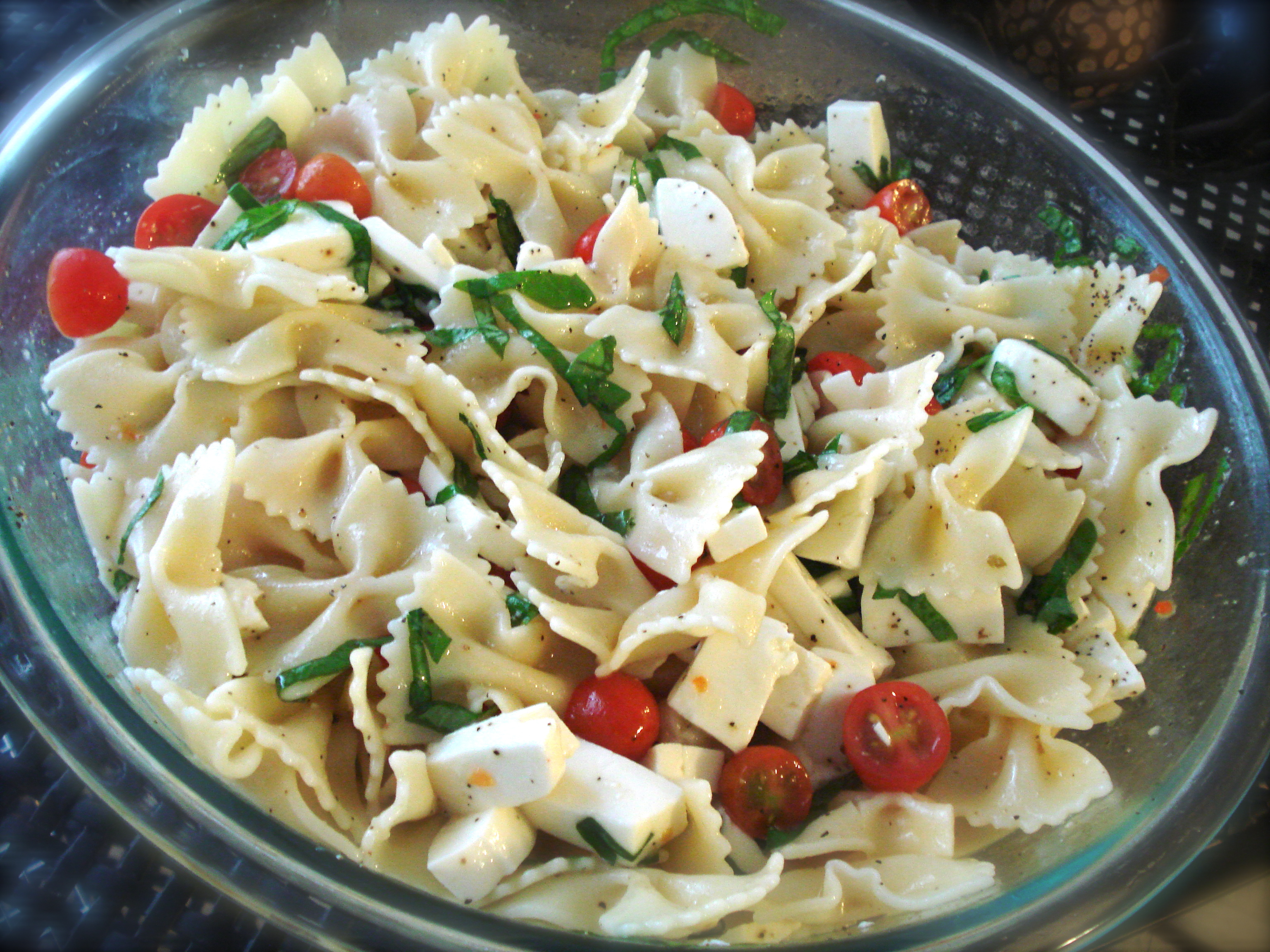 Pasta Salad Recipes Types Primavera Bake Fagioli Carbonara