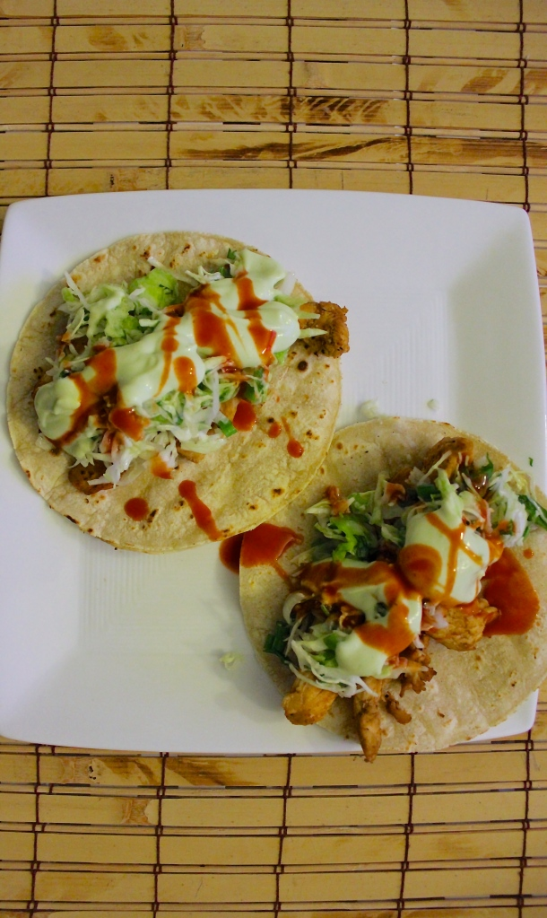 healthy recipe chile chicken tacos