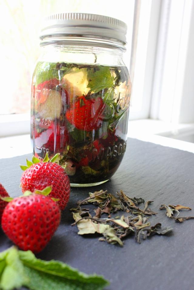 strawberry rhubarb vodka