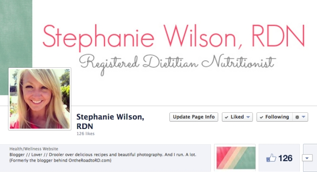 Stephanie RDN facebook